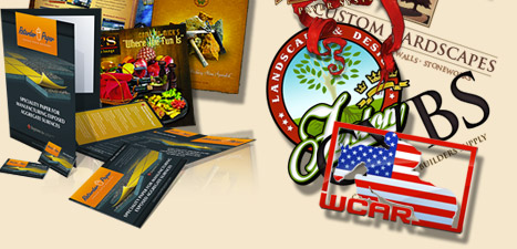 Maryland Print Design agency- logos, brochures, business cards etc. Creative graphic design company.